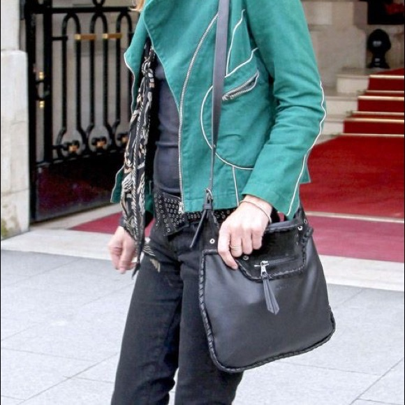 Kate Moss Glastonbury Longchamp